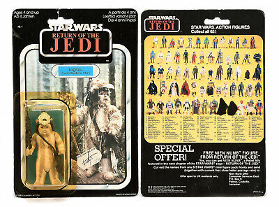 "Palitoy Star Wars Return of the Jedi Logray 3 3/4"" vintage figure"