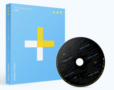 "K-POP TXT Album ""The Dream Chapter : STAR"" New BTS Brother - 1 Photobook + 1 CD"