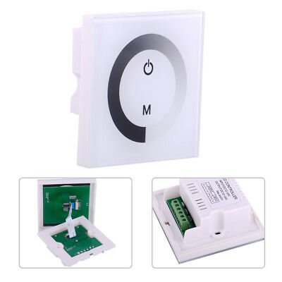 WALL MOUNTED SENSITIVE Touch Panel LED Light Dimmer Controller
