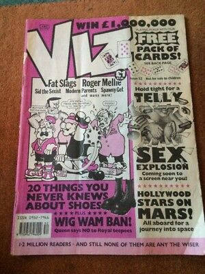 Viz Comic Issue No.52 FREE P&P UK