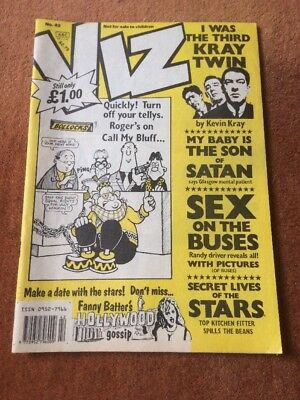 Viz Comic Issue No.42 FREE P&P UK