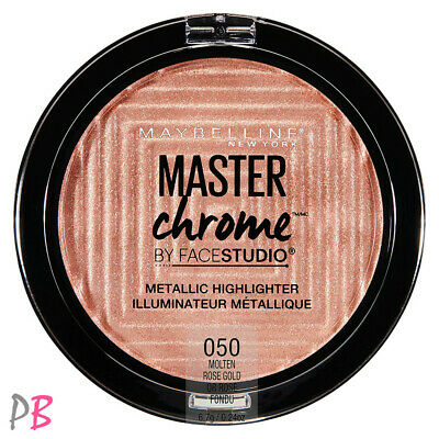 Maybelline Face Studio Master Chrome Metallic Highlighter 050 Molten Rose Gold