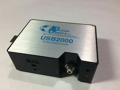 Ocean Optics VIS-NIR Spectrometer - USB-2000 USB2000 - W/ SOFTWARE 340nm-1022nm