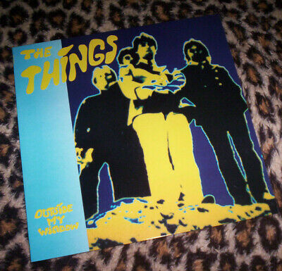 THINGS ~ OUTSIDE MY WINDOW. Orig FR 1986 vinyl LP. M/EX+.