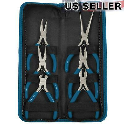 Jewelry Making Mini Craft Pliers Set (6 Piece)