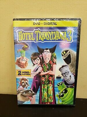 Hotel Transylvania 3: Summer Vacation (DVD, 2018) Free Shipping Included!