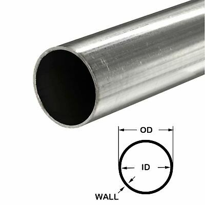 "DOM Carbon Steel Tube 3//4/"" OD x .250/"" wall x 36/"""