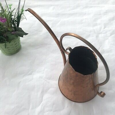 Watering Can Pitcher Hammered Solid Copper Water Can USA Gregorian?