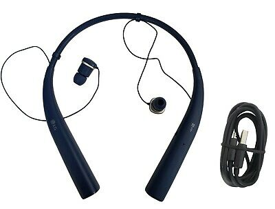 Genuine LG Tone Pro HBS-780 Bluetooth Premium Wireless Stereo Headset Blue New