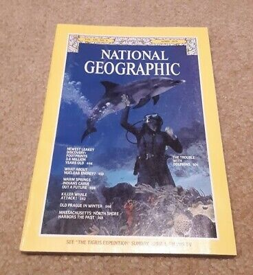 NATIONAL GEOGRAPHIC April 1979; Warm Springs Indian Res; North Shore of Mass