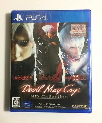 NEW PS4 Devil May Cry HD Collection JAPAN Sony PlayStation 4 import Japanese