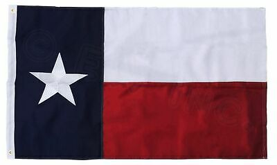 Lot of 2 3x5 First Republic of Texas Zavala Flag 3/'x5/' House Brass Grommets