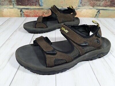9bf0083c53f7 TEVA MEN S SPORT Sandals Size 11 Brown Suede Waterproof -  26.99 ...