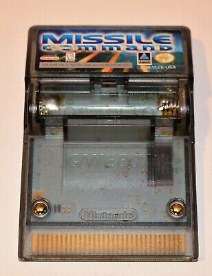 *missile Command Nintendo Game Boy Color Gbc Rumble Game