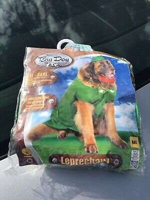 Rubie's Big Dogs Saint Patrick's Day Leprechaun For Dog Pet Costume Size XXL