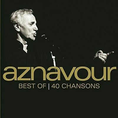 Charles Aznavour - Best Of 40 Chansons New Cd