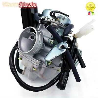 Careful Gy6 125cc 150cc Pd24j Carburetor Carb With Drian Tube Hammerhead Sunl Roketa Kazuma Taotao Atv Go Kart Scooter Parts Pure White And Translucent Atv Parts & Accessories