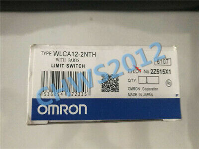 1 PCS NEW IN BOX OMRON travel switch WLCA12-2NTH