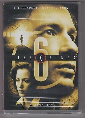 The X-Files - The Complete Sixth (6) Season (DVD 6-Disc Set)—NEW SEALED