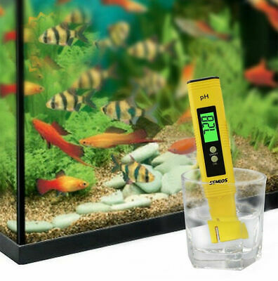 PH Meter Test Pen Digital Electric Portable Water Hydroponics Aquarium Tester AU
