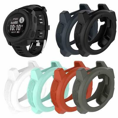 For Garmin Instinct Smart Sports Watch Silicone Protective Case Protector