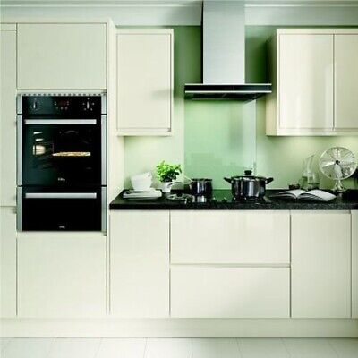 New Hygena Kensal Cream Gloss Kitchen -Flat Pack- Orders over £700=Free Delivery