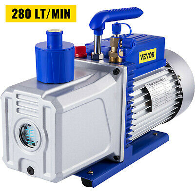 12CFM 2 Stages 1HP Refrigerant Vacuum Pump AC Conditioning 110V/60HZ 1400 RPM