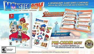 Monster Boy and the Cursed Kingdom Nintendo Switch *Neu*