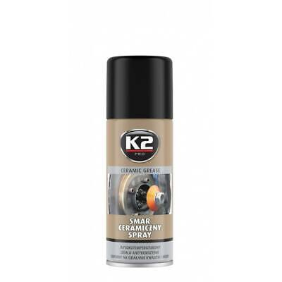 K2 Ceramic Grease 400 Ml - Hochtemperatur Schmiermittel Bis 1400°  (15,00 €/1L)