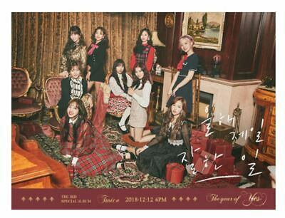 """K-POP TWICE 3rd Special Album """"The Year of Yes"""" - 1 Photobook + 1 CD / B Ver"""