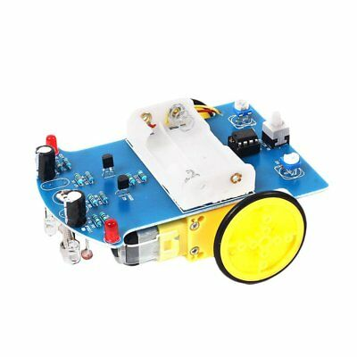Smart Intelligent Tracking Line Follower Sensor Robot Car Module DIY Kit 0JE