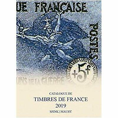 Spink Maury Catalogue de Timbres de France 2019: 122nd  - Hardback NEW  31/08/20