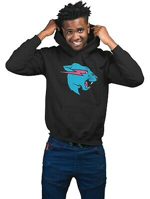Mr Beast Lightning Cat Hoodie Or T-Shirt YouTuber Merch Adults & Kids
