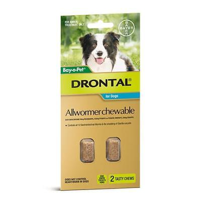 Drontal Suspension Worming Syrup for Puppies + Small Dogs - 30ml