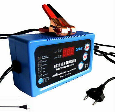 Auto Smart Battery Charger 12V 6V 2/6A Car Boat Caravan Bike GEL AGM