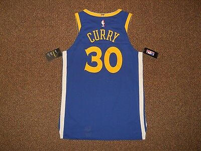 reputable site 07885 8ab99 NWT NIKE STEPHEN CURRY #30 Golden State Warriors Authentic ...