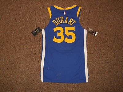 64bf79a8a6e Kevin Durant Golden State Warriors Blue Authentic Nike Jersey sz 40 w  tags