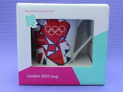 Olympic Memorabilia London 2012 Official Boxed London Olympics 2012 Wenlock Queens Guard Mug In Box Mint
