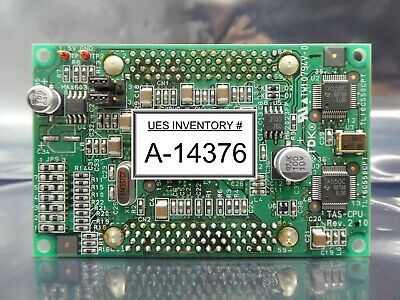 TDK TAS-CPU Processor Board PCB Rev. 2.10 TAS300 Load Port Used Working