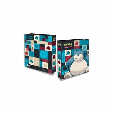 Snorlax 3-Ring Binder by Ultra Pro + 2 Sets of 9 Pocket Pages (Pokemon cards)