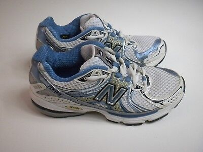 NEW BALANCE WR760ST Women Blue White Athletic Running Shoes Size 7