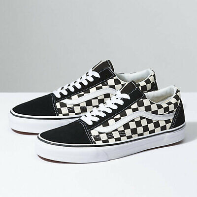 362c744089911a Vans UA Old Skool Primary Checker Black White New Lifestyle Men Shoe  VN0A38G1P0S