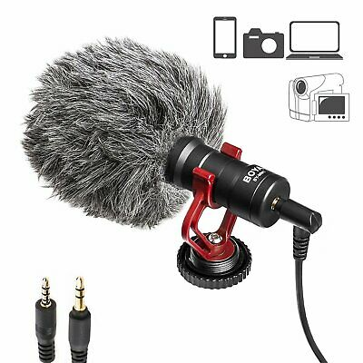 Viecam BY-MM1 Video Microphone Condensor for DSLR Camera Camcorder Smartphone