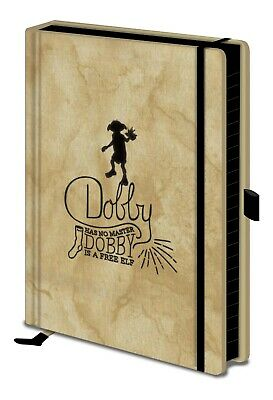 Official Harry Potter (Dobby) Has No Master Premium A5 Notebook SR72697