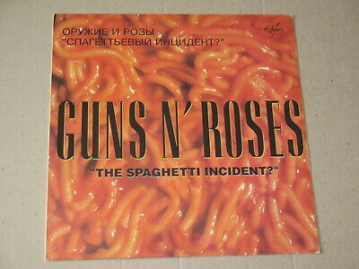 "GUNS 'N' ROSES ""The Spaghetti Incident?""   press ANTROP Russia EXTRA RARE LP NM"