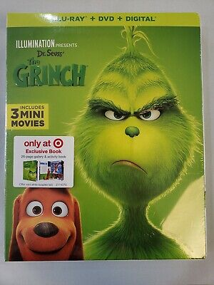 Illumination Dr. Seuss' The Grinch (Blu-ray/DVD/Digital) TARGET EXCLUSIVE!