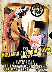 New & Sealed!  Full Moon The Dollman Demonic Toys 3 Movie Collection DVD Box Set