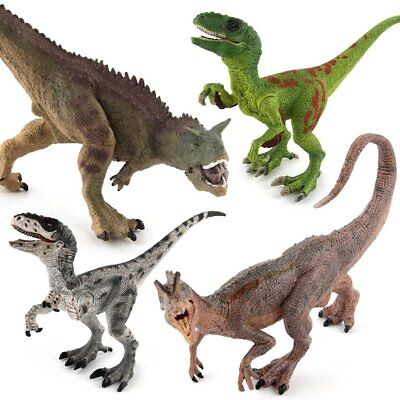 Large Bag Of Jurassic Dinosaurs Kids Dinosaur Figures Model Toys New Plastic3RXE