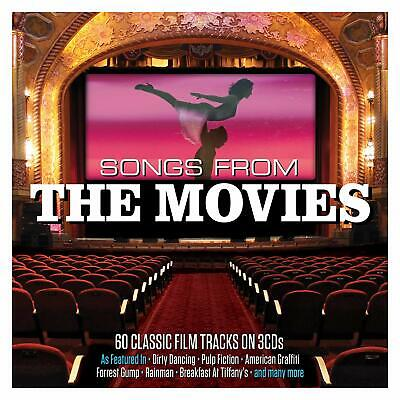 Songs From The Movies VARIOUS ARTISTS Best Of 60 Classic Film Songs NEW 3 CD