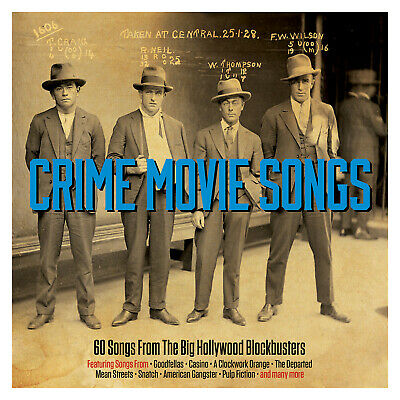Crime Movie Songs VARIOUS ARTISTS Best Of 60 Essential Classic Songs NEW 3 CD